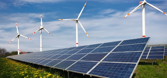 Hybrid Wind & Solar Power